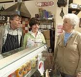 Roy, Hayley, Sylvia - from Jane Reynolds' weekly 'Corrie Corner' review