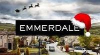 Emmerdale Christmas logo