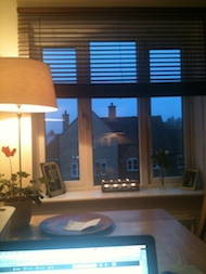 Sunrise over Swindon