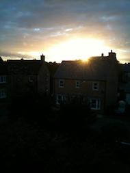 SunsetoverSwindon